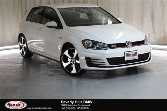 Used 2017 Volkswagen Golf GTI S Hatchback Los Angeles