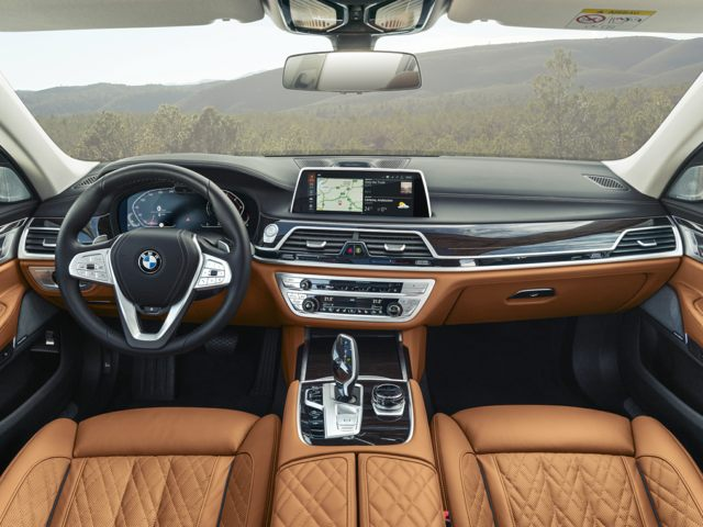 BMW 7 Series interior Montgomery