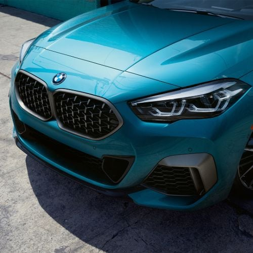 BMW 2 Series Gran Coupe Front End Teal