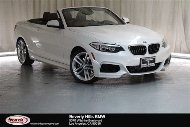 Certified Used 2016 BMW 228i Convertible in Los Angeles