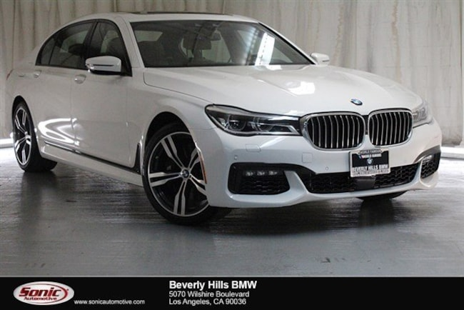 Used 2016 BMW 750i Sedan Los Angeles