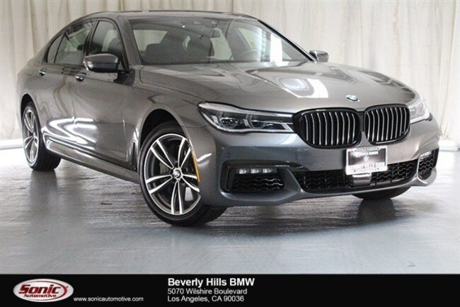 Used 2018 BMW 750i Sedan Los Angeles