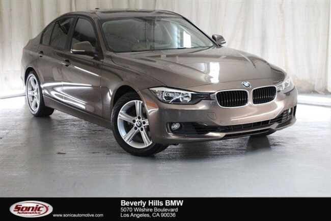 Used 2015 BMW 328i Sedan Los Angeles