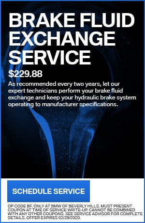BRAKE FLUID EXCHANGE SERVICE