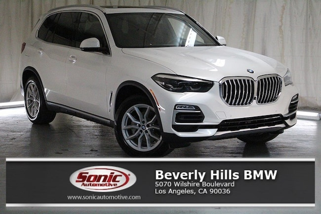 New 2019 BMW X5 xDrive40i SAV in Los Angeles