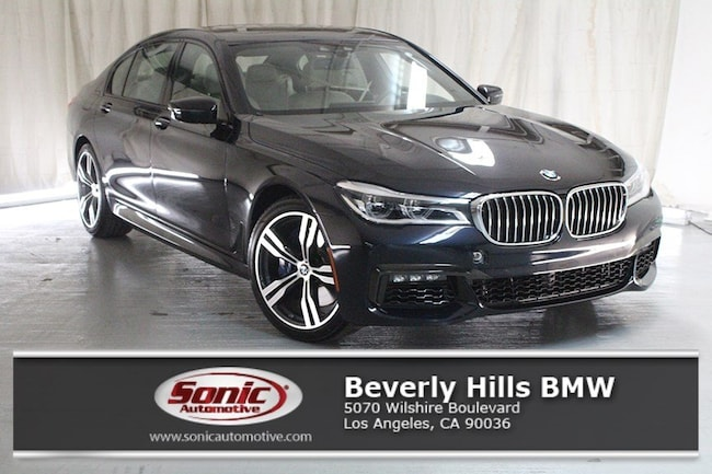 New 2019 BMW 750i Sedan in Los Angeles