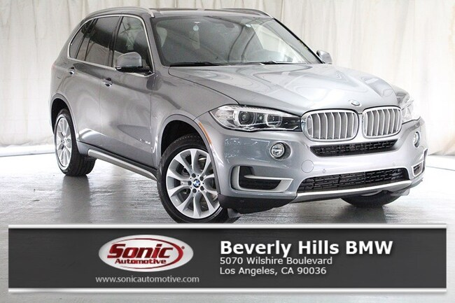 New 2018 BMW X5 xDrive35d SAV in Los Angeles