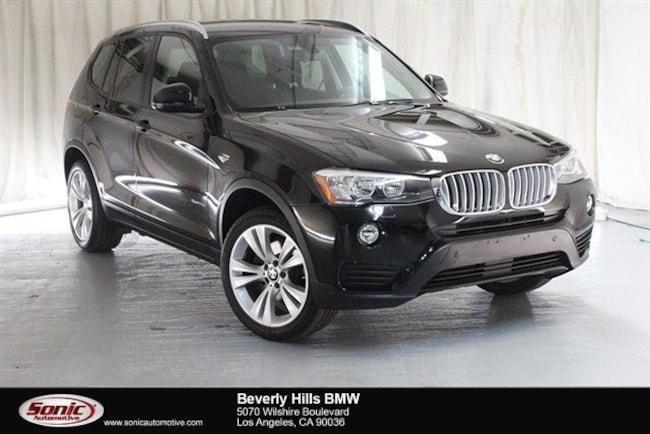 Used 2016 BMW X3 SAV Los Angeles