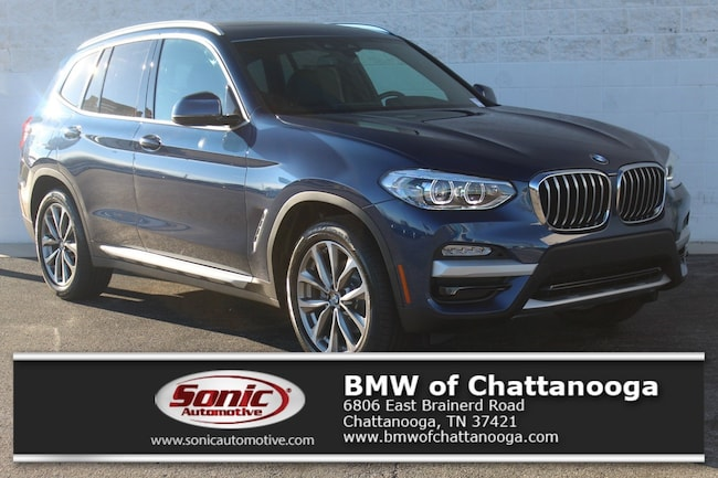 New 2019 BMW X3 xDrive30i SAV Chattanooga