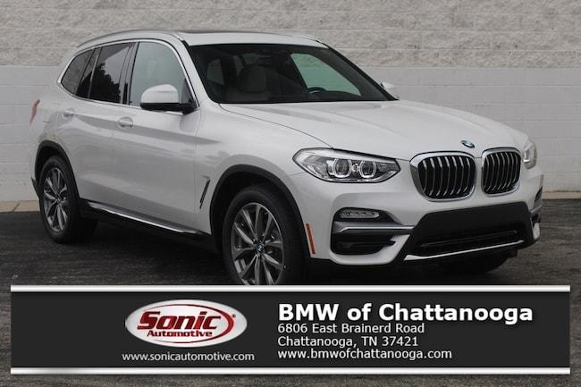 New 2019 BMW X3 sDrive30i SAV Chattanooga