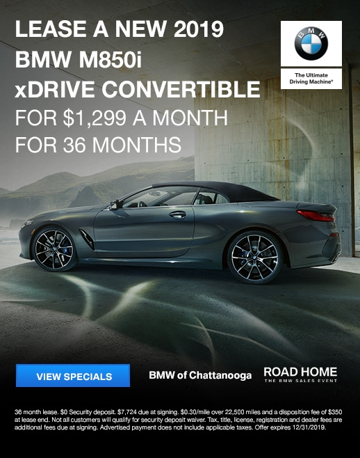 2019 BMW m850i Lease Specials