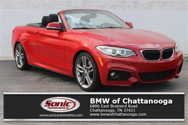Certified Used 2017 BMW 230i Convertible in Chattanooga