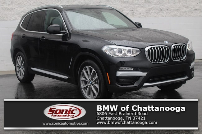 New 2019 BMW X3 xDrive30i SAV Chattanooga