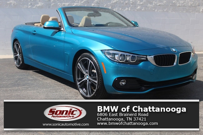 New 2019 BMW 430i Convertible Chattanooga