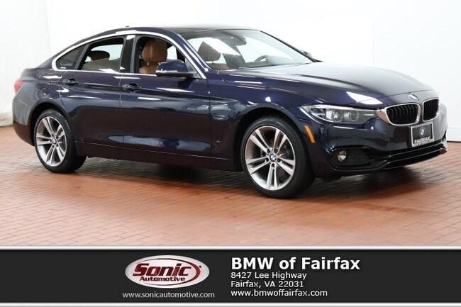 Used 2019 BMW 430i xDrive Gran Coupe in Fairfax, VA