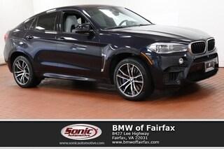 Used 2016 BMW X6 M SAV in Fairfax, VA