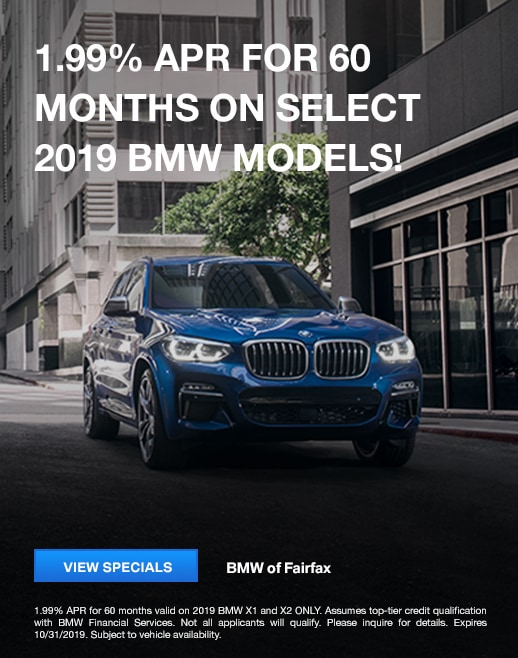 2019 BMW Model Lease Specials