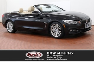 Used 2015 BMW 428i Luxury Line Convertible in Fairfax, VA
