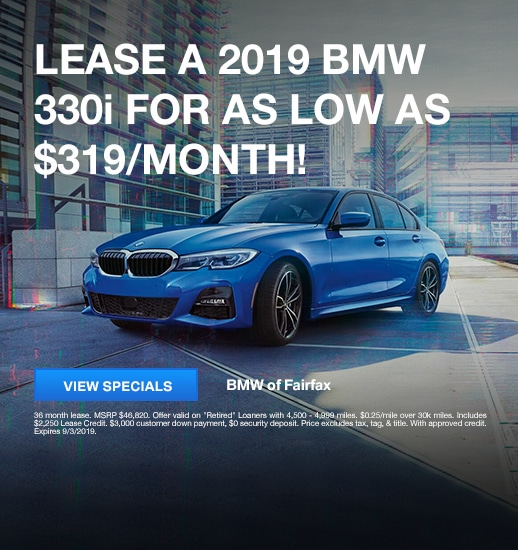 BMW EXECUTIVE DEMO AND LOANER LEASE SPECIALS | BMW of Fairfax