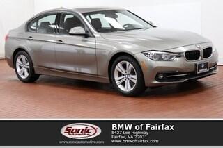 Used 2016 BMW 3 Series Sedan in Fairfax, VA