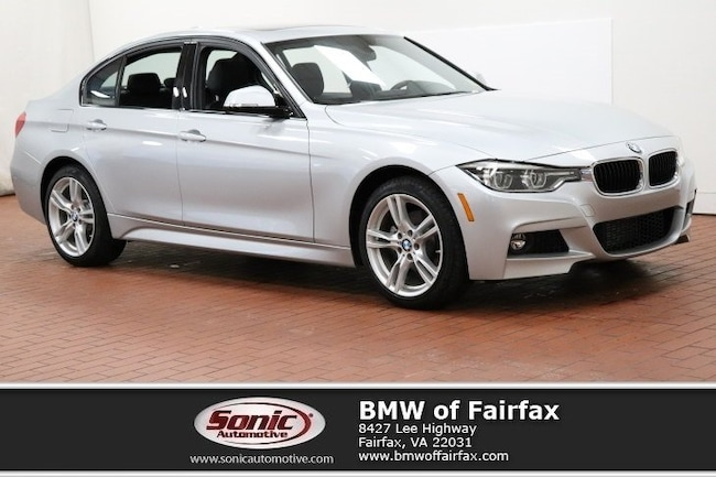 Used 2018 BMW 328d xDrive M Sport Package Sedan in Fairfax, VA