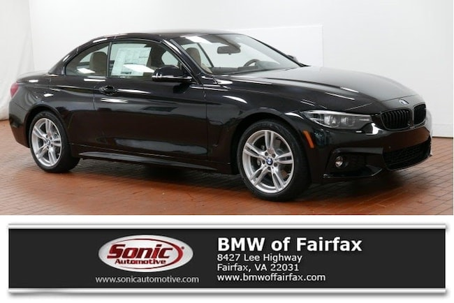 New 2019 BMW 430i xDrive Convertible near Washington DC