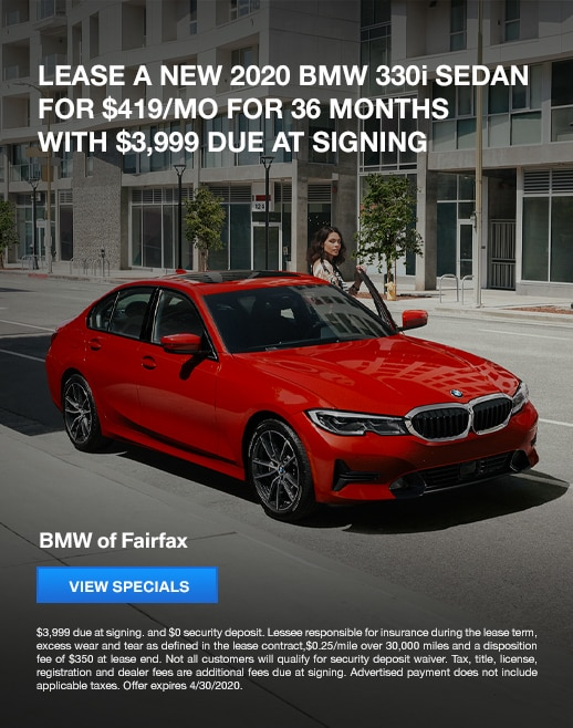2020 330i Lease Specials