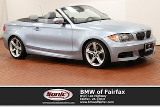 Used 2010 BMW 1 Series Convertible in Fairfax, VA
