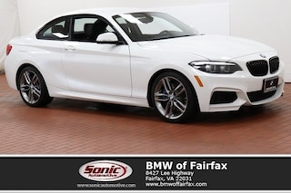Used 2018 BMW 230i xDrive M Sport Package Coupe in Fairfax, VA