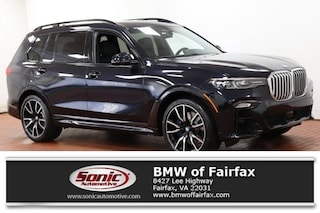New 2019 BMW X7 xDrive50i SUV near Washington DC