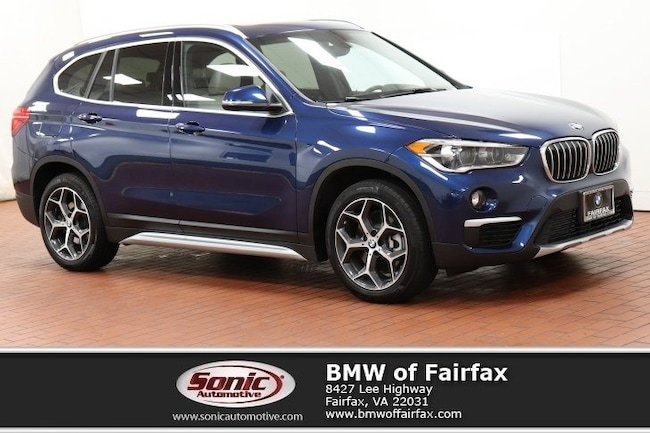 Used 2018 BMW X1 sDrive28i SUV in Fairfax, VA
