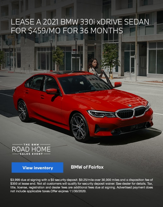 2021 BMW 330i Lease Specials