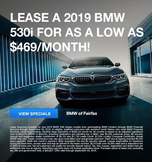 New BMW Lease Specials In Fairfax