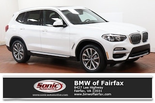 New 2019 BMW X3 xDrive30i SAV near Washington DC