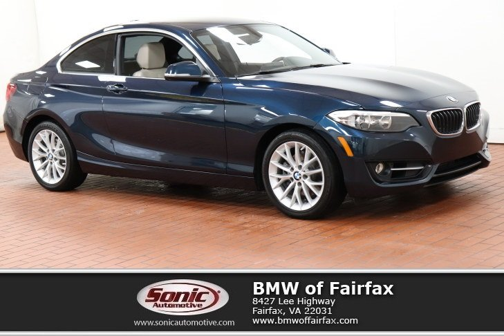 2016 BMW 228i xDrive Sport Package Coupe