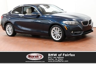 Used 2016 BMW 228i xDrive Sport Package Coupe in Fairfax, VA