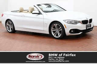 Certified 2016 BMW 4 Series Convertible near Washington DC