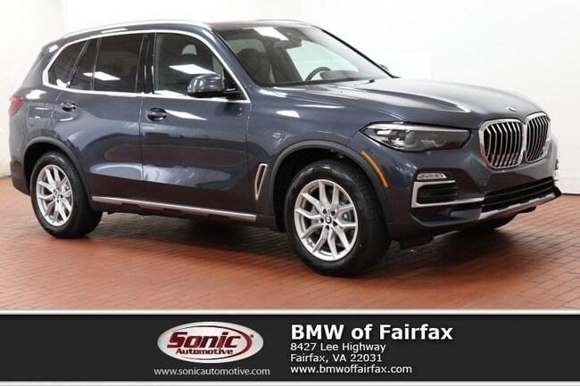 New 2019 BMW X5 xDrive40i xLine SUV near Washington DC