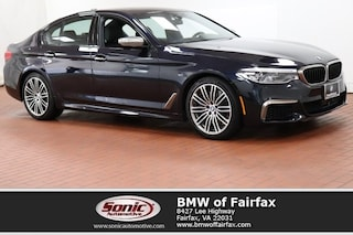 Used 2018 BMW 5 Series Sedan in Fairfax, VA