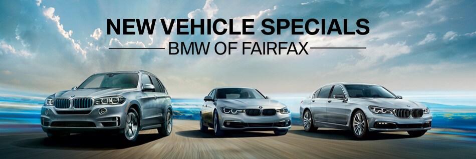 New BMW Lease Specials in Fairfax near Washington DC