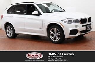 Used 2016 BMW X5 xDrive35i M Sport Package SUV in Fairfax, VA