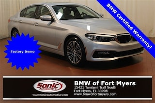 Certified 2018 BMW 540i Sedan in Fort Myers