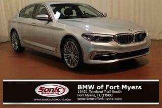 New 2018 BMW 540i Sedan in Fort Myers, FL