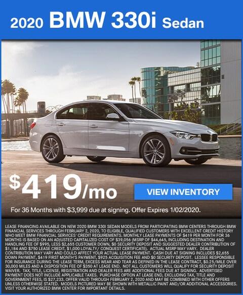 330i Lease for $419/mo