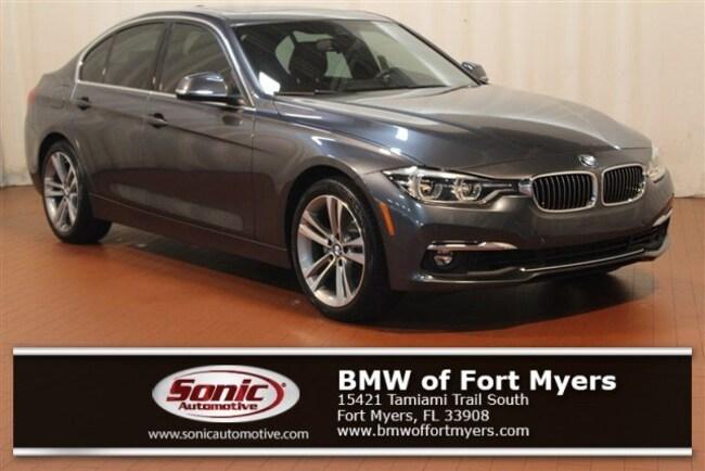 Certified 2016 BMW 328i w/SULEV Sedan in Fort Myers, FL