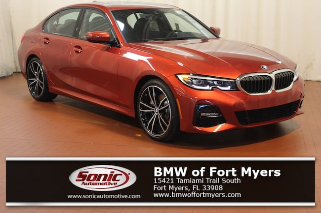 New 2019 BMW 330i 330i Sedan in Fort Myers, FL