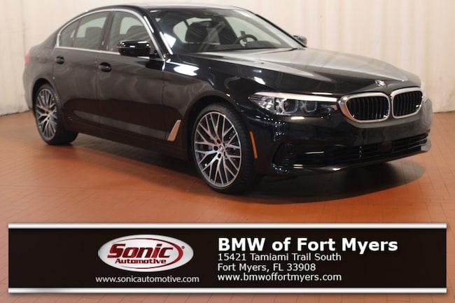 New 2019 BMW 540i 540i Sedan in Fort Myers, FL