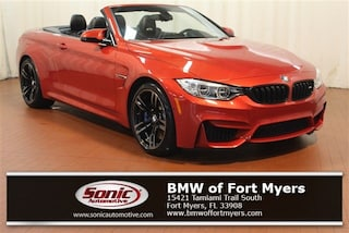 Certified 2016 BMW M4 Convertible in Fort Myers