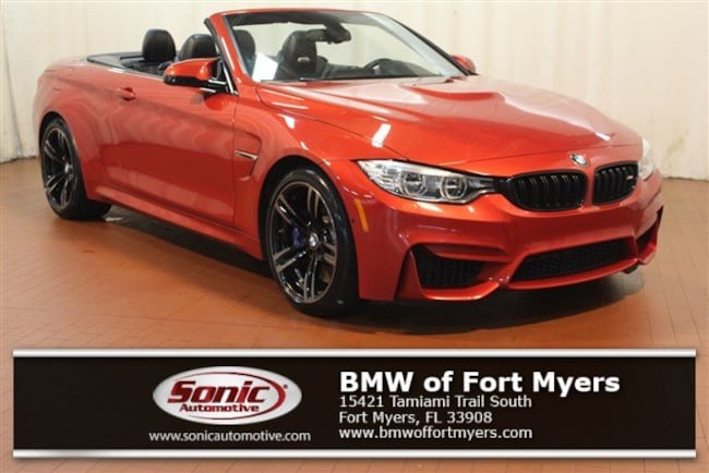 Certified Pre-Owned 2016 BMW M4 Convertible for sale in Fort Myers, FL