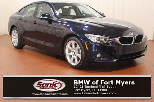 Certified 2015 BMW 428i xDrive Gran Coupe in Fort Myers, FL